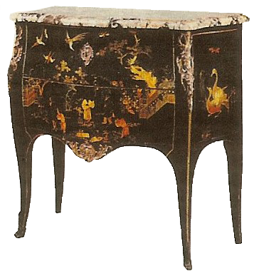 entretien et restauration des meubles noirs napoleon iii
